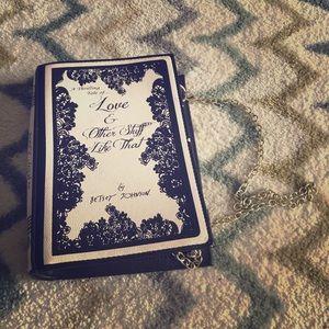 Betsey Johnson Book Purse